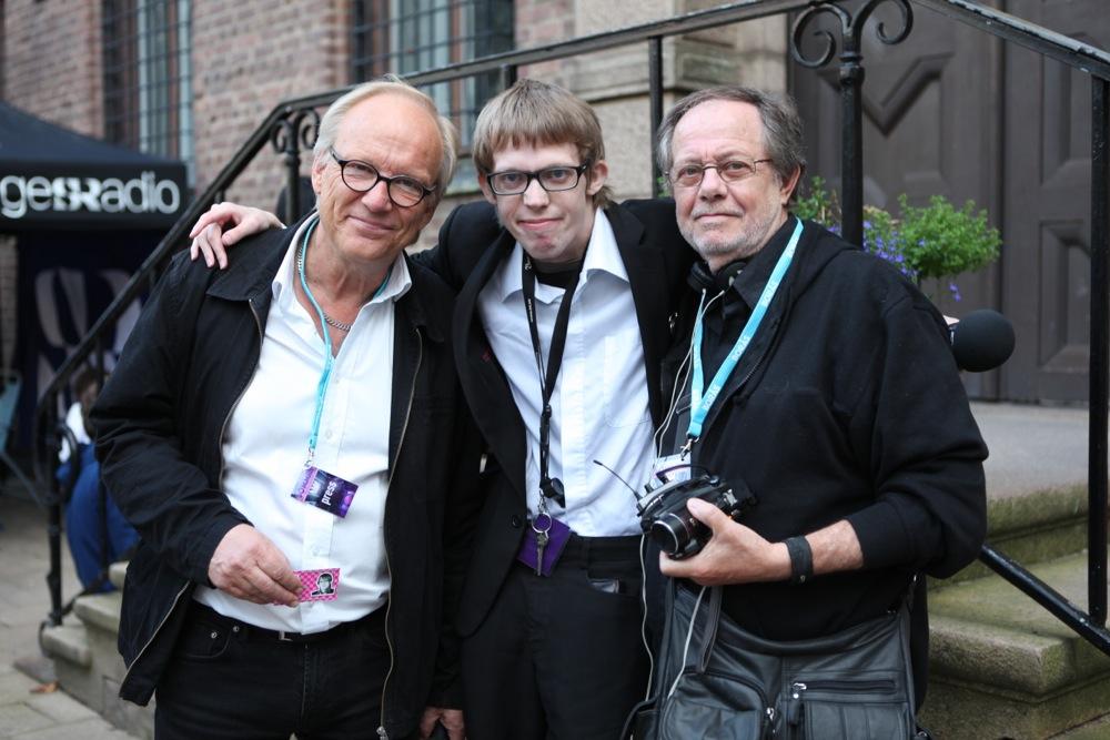 Henry Augustsson och Gunnar Jägsell