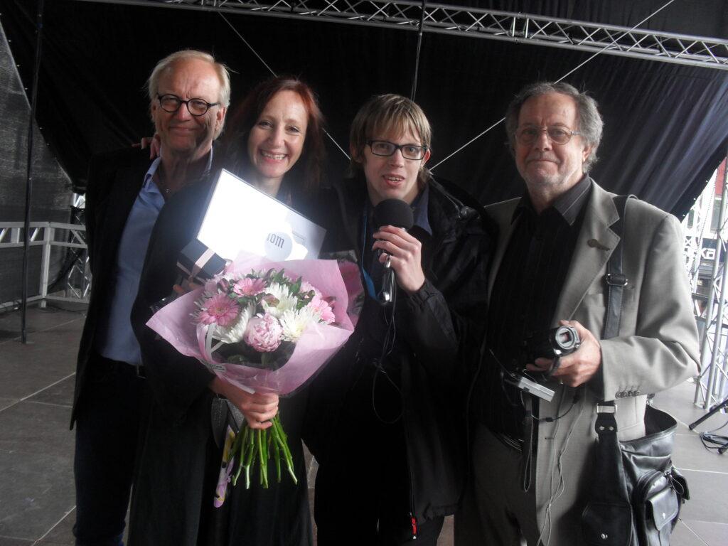 Fredrik med Boråsambassadörerna