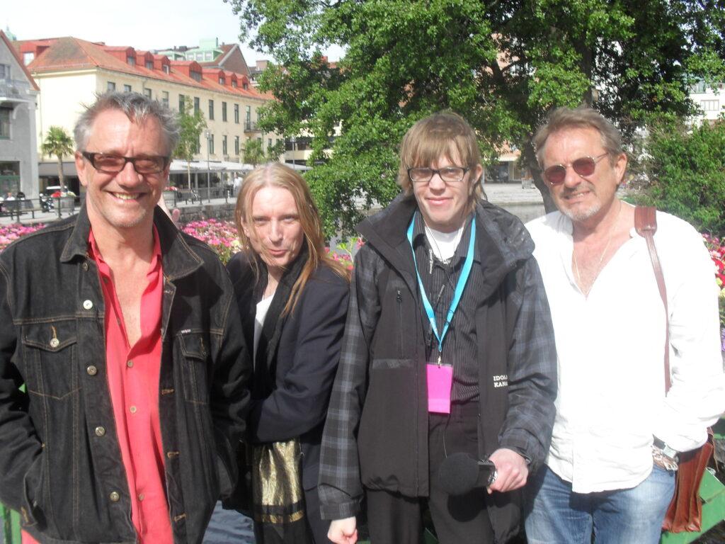 Idolbild med Ronander, Rickfors och Hylander