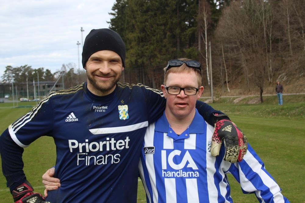 Tobias med John Alvbåge